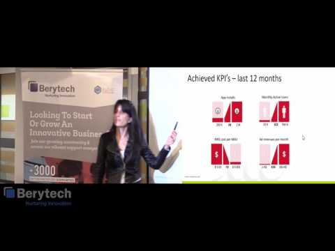 Jeanette Bejjani - Appdater at the Berytech Meetups powered by GIST