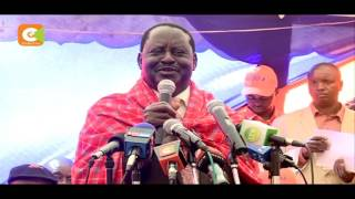 Raila tells off Uhuru for allegedly insulting him