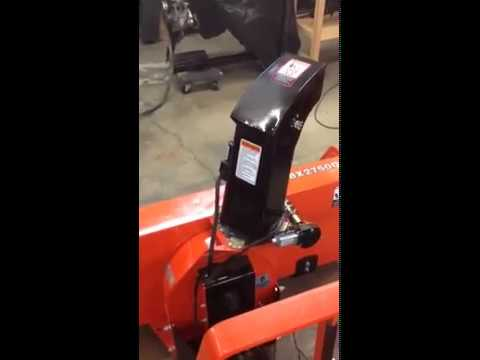 Snowblower Chute Mods Youtube