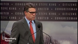 Perry: Congress Unable to Act, They Only Talk
