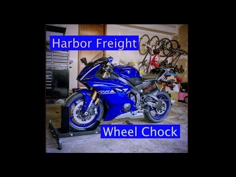 Harbor Freight Pittsburgh Motorcycle Wheel Chock