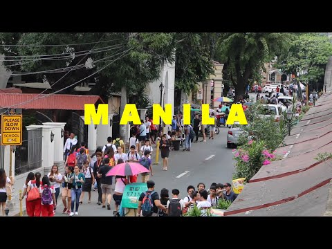 VLOG001: Philippines / Manila