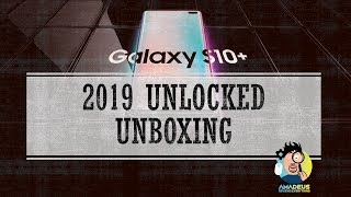 Samsung Galaxy S10 Plus Unlocked Edition Unboxing