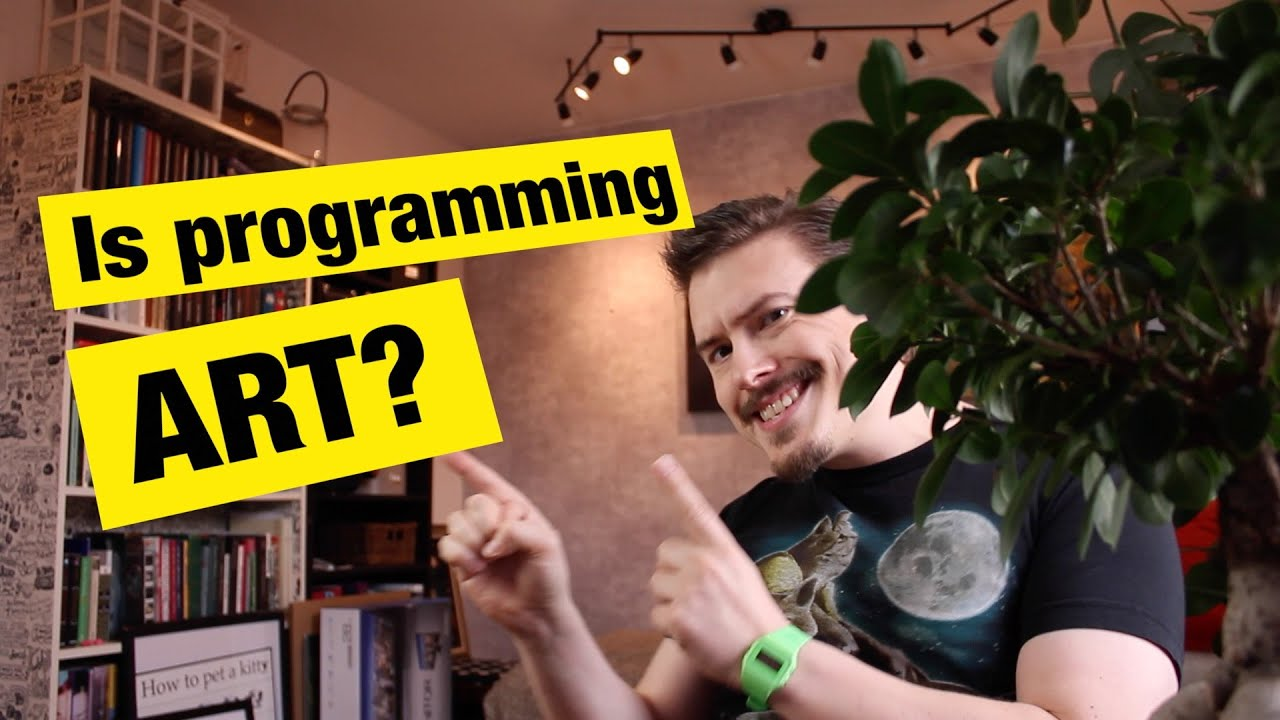 Is Programming Art? - MPJ's Musings - FunFunFunction #33
