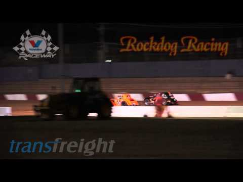 Legend Cars - Round 3 Super Eight Dash - Valvoline Raceway - Rockdog Racing Videos