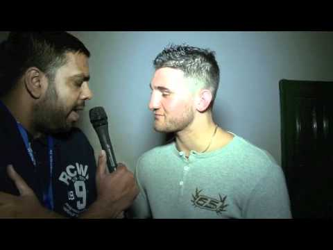 'MACCARINELLI HAS TO EARN HIS SHOT' - NATHAN CLEVERLY INTERVIEW FOR iFILM LONDON.