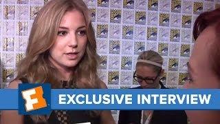 Emily VanCamp Comic-Con 2013 Exclusive Interview | Comic Con | FandangoMovies