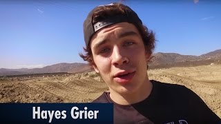 Hayes Grier Tackles the Red Bull Straight Rhythm Track