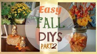 Fall DIY Decor| Dollar Tree DIYs| Megan Navarro #FallDIYs