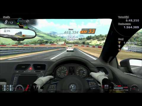 Gran Turismo 6 | Sierra Time Rally - Time Trial - Challenge 2 (Gold)