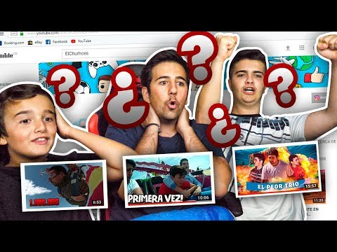 ¿CUANTAS VISITAS TIENEN MIS VIDEOS? CHALLENGE CON MIS PRIMOS ! - ElChurches