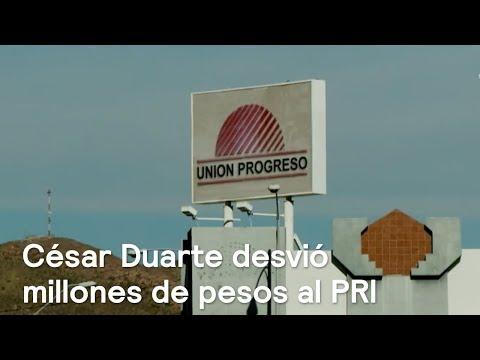 Exhiben a César Duarte por desvío de recursos al PRI - En Punto con Denise Maerker