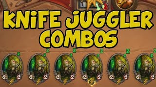 5 Dumb Knife Juggler One Turn Kill Combos!
