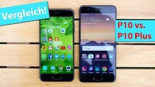 Vergleich: Huawei P10 & Huawei P10 Plus | deutsch