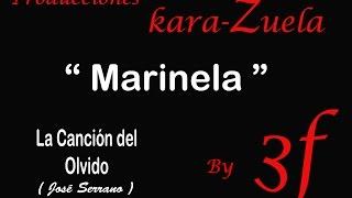 Karaoke Marinela La Canción Del Olvido Youtube