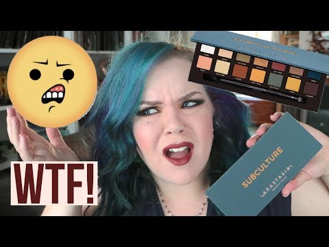 WTF  is going on with the ABH Subculture Palette?? | Anastasia Beverly Hills Subculture Review