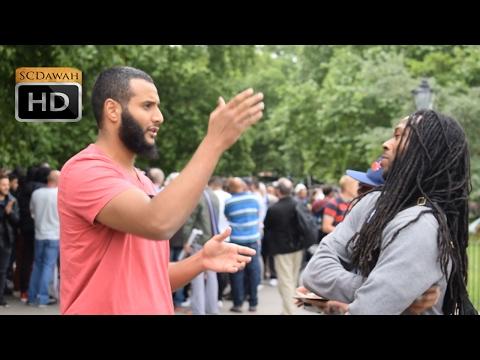 P1 - Rasta Trinity? Mohammed Hijab Vs Polite Rasta | Speakers Corner | Hyde Park