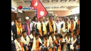 ACC U-16 NEPALI CRICKET TEAM - POWER NEWS