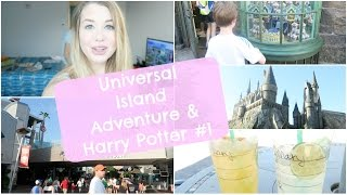 Orlando Island Adventure & Harry Potter #1 ♡ VLOGMARS