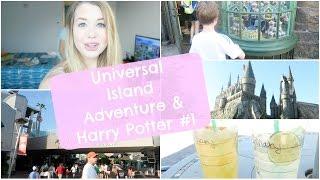 Orlando Island Adventure & Harry Potter #1 ♡ VLOGMARS