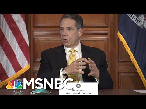 Gov. Cuomo Bringing In More Funeral Directors As Death Toll Rises In New York | MSNBC