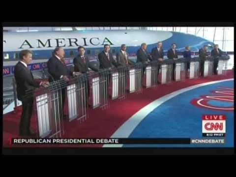 CNN Republican Presidential Debate 2016 Simi Valley California (September 16, 2015) [Main Debate]