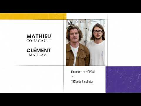 Testimonial TBS Master in Management alumnus Mathieu Couacault   Founder of HOPAAL