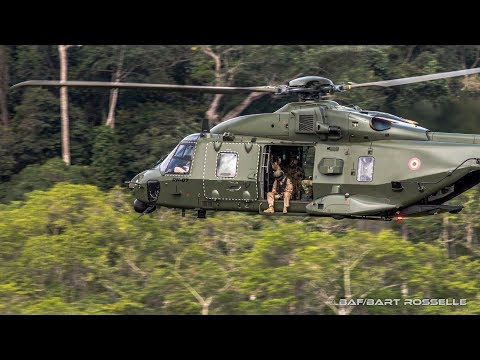GABON, TRANSPORT OF PARATROOPS WITH NH90