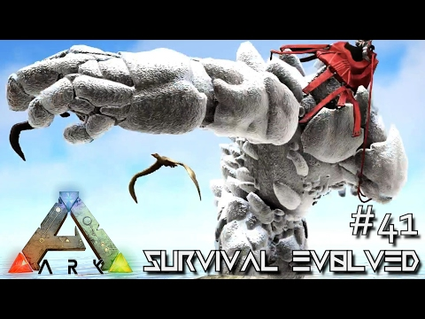 ARK: SURVIVAL EVOLVED - NEW ROCK ELEMENTAL TAMING Lvl 1000+ !!! E41 (MODDED ARK EXTINCTION CORE)