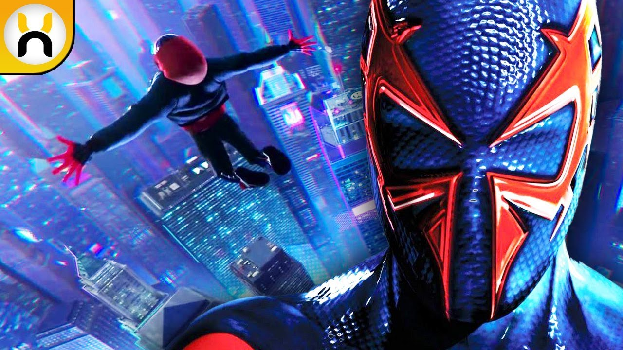 how spider man into the spider verse sets up spider man 2099 youtube