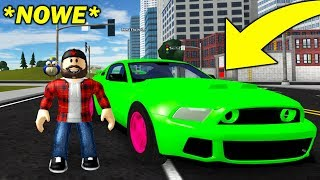 MÓJ NOWY FORD MUSTANG GT | ROBLOX #admiros