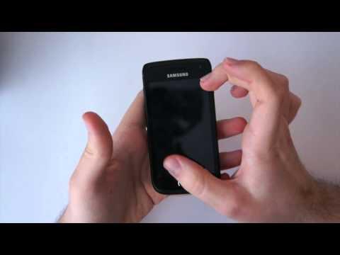 Erstes Samsung Galaxy W Wonder Unboxing