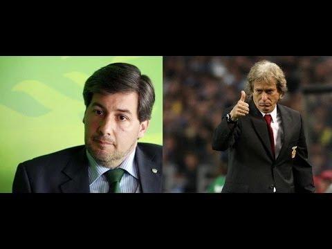 Bruno de Carvalho vs Jorge Jesus - Tottenham 1-3 SL Benfica 13-03-2014