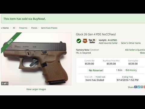 I BOUGHT A GUN ONLINE