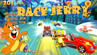 Tom And Jerry Games - Race Jerry   Speed Car Racing Games