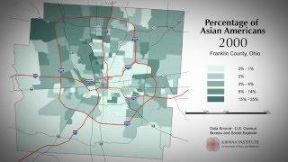 Columbus, Ohio Population Change Percentage of Asian-Americans