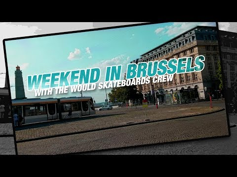SKATEBOARDING IN BRUSSELS, BELGIUM! CRAZY TRICKS!!!