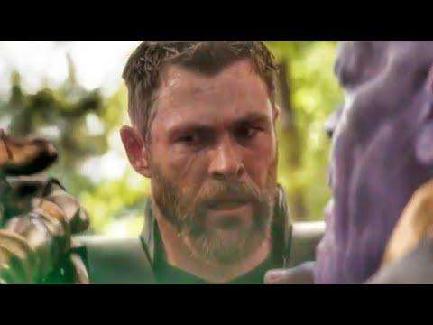 Thanos Vs Thor Wakanda Fight Scene Full - Avengers Infinity War (2018) Movie Clip HD