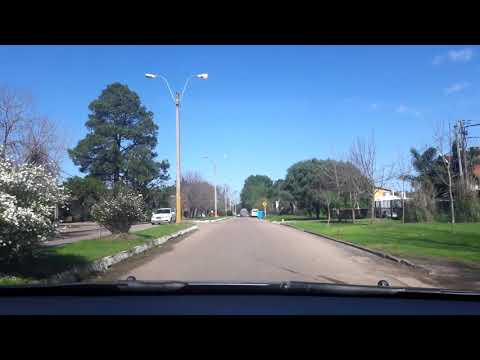 Entrando a la ciudad de Atlántida Uruguay