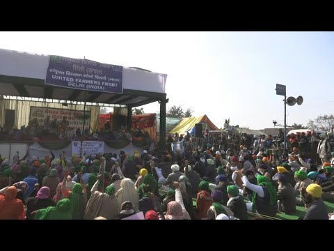 AFP News Agency: 'We won't budge' say protesting farmers at Delhi's border | AFP