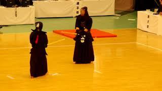 65th All Japan Kendo Championship 10   Round 1, Kasahara vs Yamaguchi