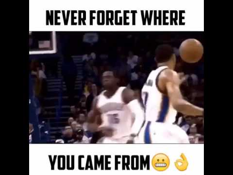 Never Forget Where You Came From!