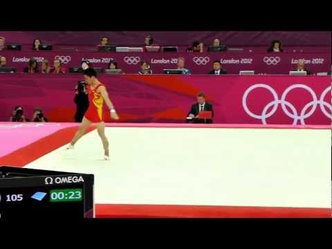 Zou Kai Floor Mens Team Gymnastics Final 2012 London