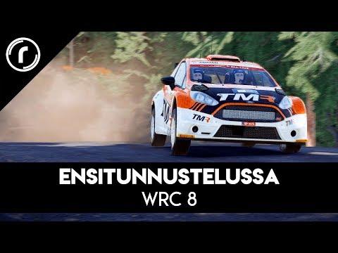 WRC 8 -ensikurkistus – kaikki radat ja autot