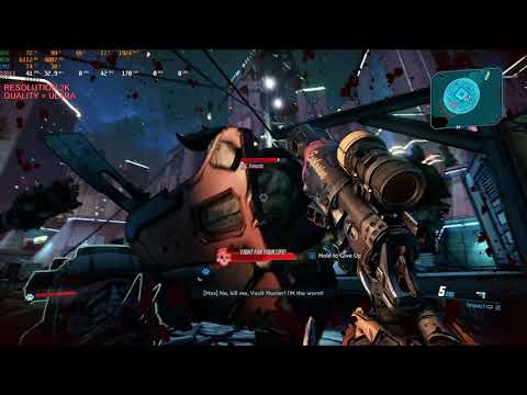 TESTING GAME FPS| BORDERLANDS 3| I7 8700K GTX-1070 2K, 1440P ULTRA & HIGH |