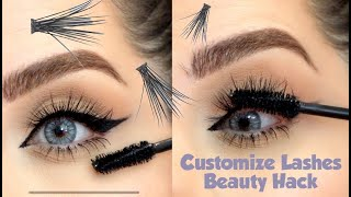 Customized Lashes & Perefect Liner Hack