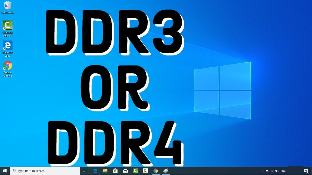 How to check the RAM type DDR10 or DDR10 in Windows 10