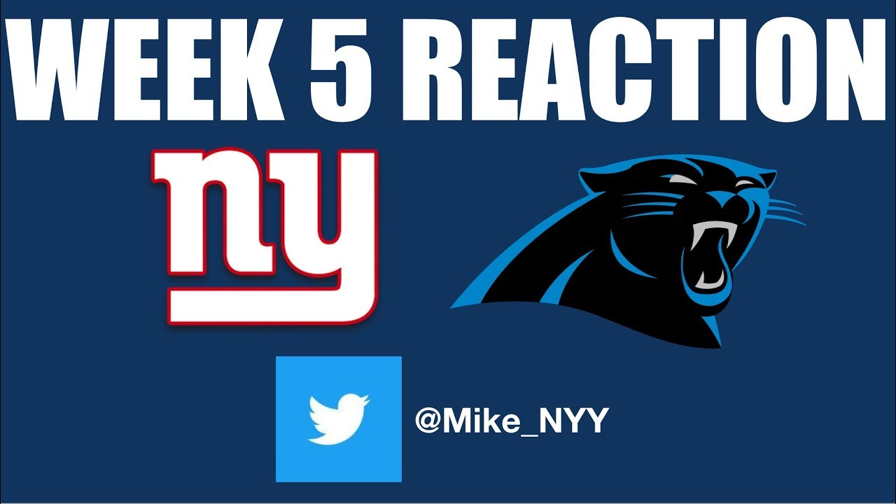 NY Giants Week 5 Reaction (Heartbreaking Loss with Positive Vibes)