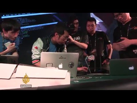 China's top hackers compete for Geek-Pwn prize