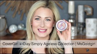CoverGirl + Olay Simply Ageless Collection | MsGoldgirl
